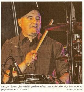 Al Zeitungsartikel Foto 11.11.15
